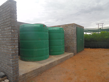 Storage of irrigation water